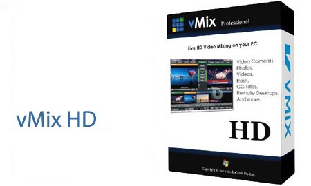 vMix HD 22.0.0.48 with Crack